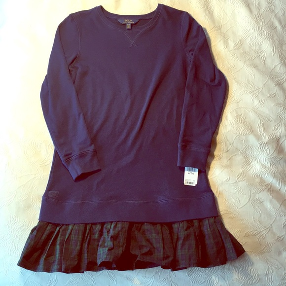 Dresses Polo Ralph Lauren Girl's Dress Sz 4 Nwt Casual Outfit Clothes